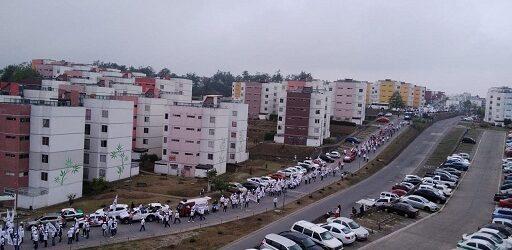 Vecinos de la zona conurbada Xalapa-Emiliano Zapata repudian movilización morenista