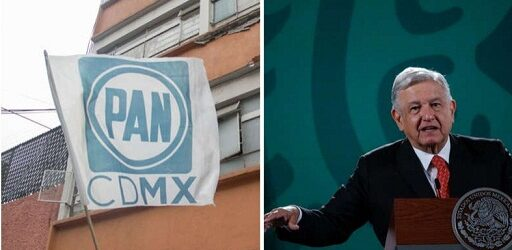 """El PAN amplía ante el INE su queja contra AMLO por """"intromisión"""""""