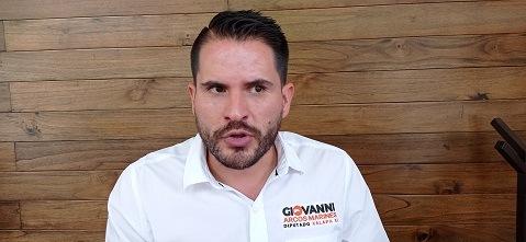 Propone candidato de MC a diputación local de Xalapa Rural que gobierno otorgue seguridad a aspirantes en los últimos 5 días