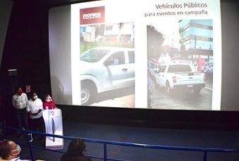 Presenta el PRI denuncias ante la FGR y ante el OPLE en contra de Ricardo Ahued por uso de recursos públicos en su campaña