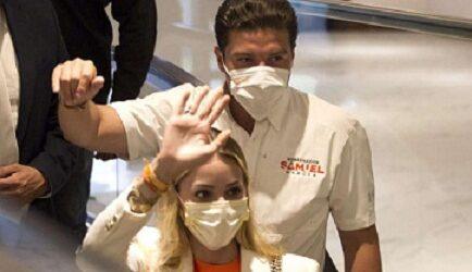 """Saquen a Mariana, mi esposa, de esto"": Samuel García"