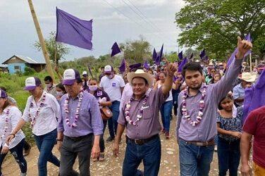 Un éxito el inicio de campaña de Néstor Rodolfo Rivera, por la presidencia municipal de Tempoal.