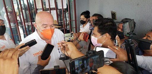 TOMAS LÓPEZ BUSCA AMPARO ANTE POSIBLE DENUNCIA DE ALCALDESA POR VIOLENCIA DE GÉNERO