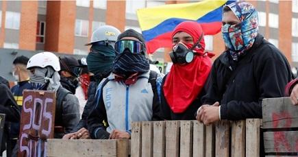 Se eleva a 42 la cifra de muertos por protestas en Colombia