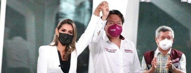 Y TODO QUEDÓ EN FAMILIA…Evelyn Salgado efectúa su registro como candidata a la gubernatura de Guerrero