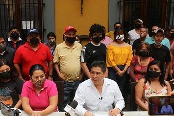 """Inician adhesiones hacia Tomás Lopez; """"es el único que va a castigar la corrupción"""", señalan"""