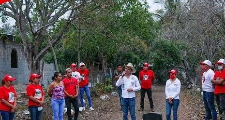 En Comapa pide León Cantón campaña de propuestas y no de guerra sucia