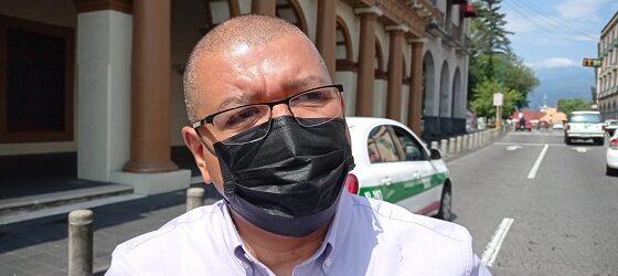Protestan agremiados del SITSSEP por el despido injustificado de una agremiada