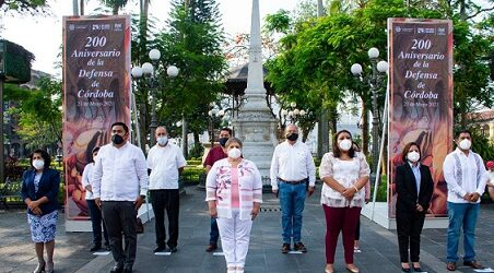 Presidenta Municipal de Córdoba llama a cordobeses a honrar memoria de héroes del 21 de Mayo