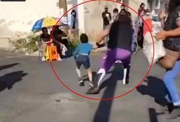 Luchador 'El Vikingo' azota a niño contra el suelo