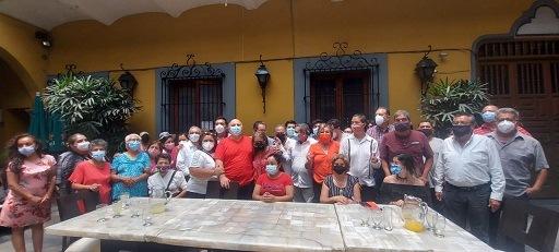 DESBANDADA DE PRIISTAS EN CORDOBA, AL NO SER RECONOCIDOS POR EL ACTUAL CANDIDATO ALA PRESIDENCIA MUNICIPAL.