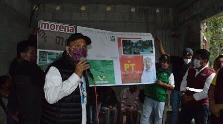 Los Huatusqueños exigen justicia social en servicios básicos: Ventura Demuner
