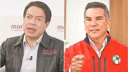 Con el PRI, aún nada: Delgado; no somos aliados de la 4T: Alito