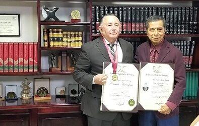 Rafael Aguilar Lendechy se titula como Doctor en Ciencias Económicas  y Empresariales por la Universidad Xalapa con mención honorífica