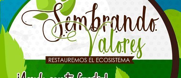 Invita DIF a alumnos de Edificando Valores y ciudadanía en general  a restaurar el ecosistema