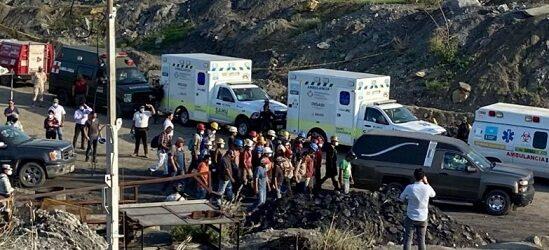 """""""No es como antes"""", dice AMLO sobre denuncias de trabajadores por condiciones de la mina en Múzquiz"""
