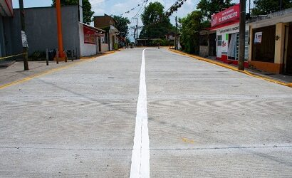 Ayuntamiento de Córdoba rehabilita más de dos mil metros cuadrados de la carretera a Amatlán