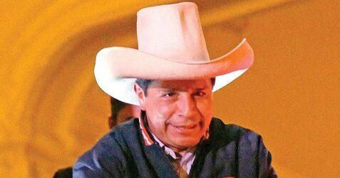 Conteo da presidencia a Pedro Castillo en Perú