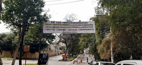 Vecinos de Jardines y Fuentes de Las Ánimas se oponen a  la instalación de negocios, oficinas y escuelas en dicha zona
