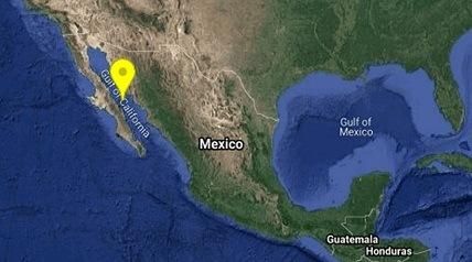 Se registra sismo de magnitud 5.5 en Sonora
