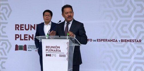 Morena, PT y PVEM buscan formar alianza para presidir la Jucopo por 3 años