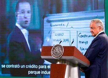 A Anaya se le juntaron denuncias; no tengo nada que ver: López Obrador