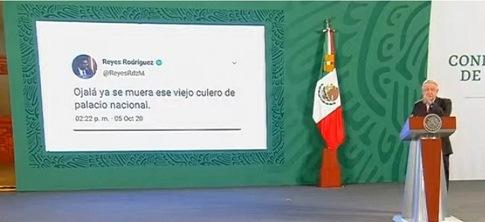 """""""Ojalá ya se muera ese viejo c… de Palacio Nacional"""", el supuesto tuit del magistrado vs AMLO"""