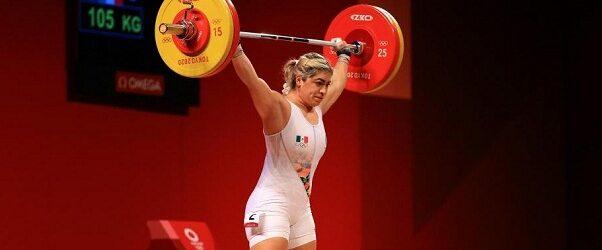 TOKIO 2020: Mexicana Aremi Fuentes, bronce en halterofilia en Juegos Olímpicos