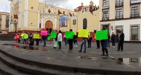 Colonos de la Humberto Aguirre, demandan ser incluidas en la entrega de apoyos al ser afectados por el Huracán Grace