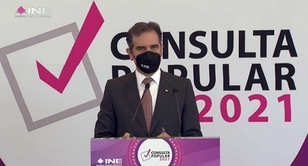 En consulta popular, políticos vieron oportunidad para deslegitimar al INE: Córdova