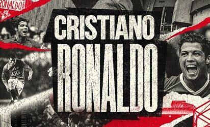 ¡OFICIAL! Cristiano Ronaldo es nuevo jugador del Manchester United