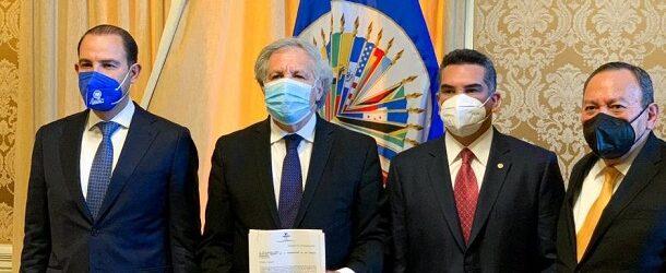 Alianza Va por México denuncia ante OEA intromisión del crimen organizado en elecciones