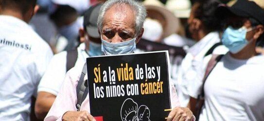 PARA QUE NO SEA JARABE DE PICO…Padres de niños con cáncer exigen a 4T transparentar contratos de medicamentos