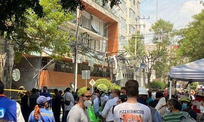 """""""Estaba en mi cama y de pronto sentí una explosión muy fuerte"""": testimonios tras explosión en la Benito Juárez"""