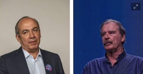 """Calderón y Fox señalan """"fracaso"""" de la consulta; callan sobre el resultado del 97.73% por el SÍ"""