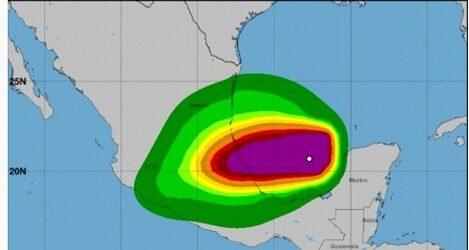 Grace se intensifica a huracán categoría 3; se aproxima a Veracruz