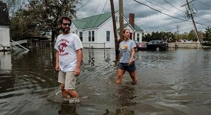 Mueren dos personas en socavón provocado por 'Ida'; suman cuatro muertos en Louisiana y Mississippi tras paso del huracán