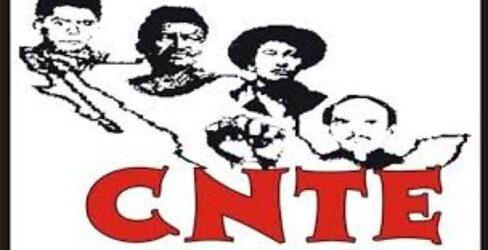 """CNTE Veracruz en contra de la """"imposición"""" del  regreso a clases presenciales el próximo lunes"""