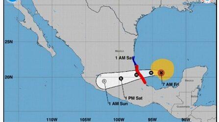 Huracán Grace impactaría a Veracruz cercano a categoría 2