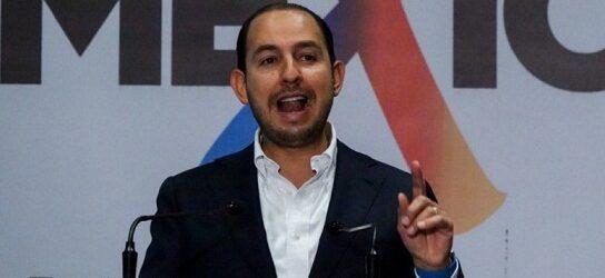 """AMLO no aceptará reto de Anaya """"porque con sus hermanos sí hay pruebas y el dinero recibido era para él"""": Marko Cortés"""