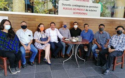 10 organizaciones campesinas abandonan el Congreso Agrario Permanente de Veracruz.
