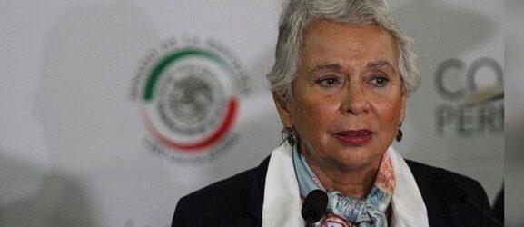 Senado elige a Olga Sánchez Cordero como presidenta de la Mesa Directiva