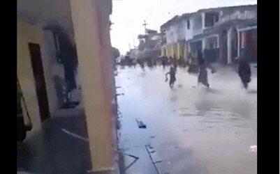 Parte del mar comienza a ingresar a Haití, luego del terremoto