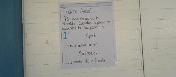 ANTE LA PRESIÓN DE PADRES DE FAMILIA…Posponen inscripciones y reinscripciones en escuelas oficiales de Xalapa
