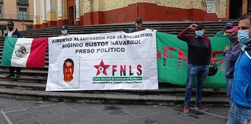 Continúa la 4T la escalada represiva de los gobiernos de Calderón y Peña Nieto: FNLS