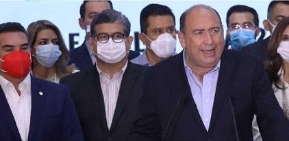 Rubén Moreira: PRI en contra de que INE fije lineamientos para revocación de mandato