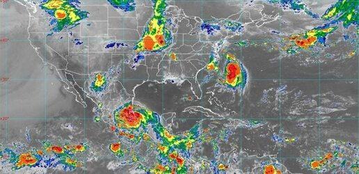 """""""Grace"""" ya es huracán categoría 1; mantiene desplazamiento por el centro del país"""