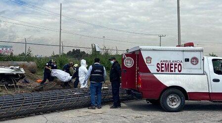 Se desploma grúa en Ecatepec; mueren cinco trabajadores