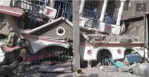 Sismo de magnitud 7.2 sacude a Haití; hay inmuebles derrumbados