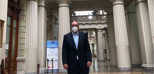 Mauricio Toledo se presenta voluntariamente en Corte de Chile